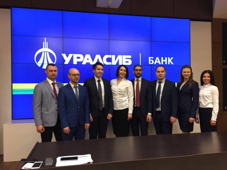 Команда Банка Уралсиб