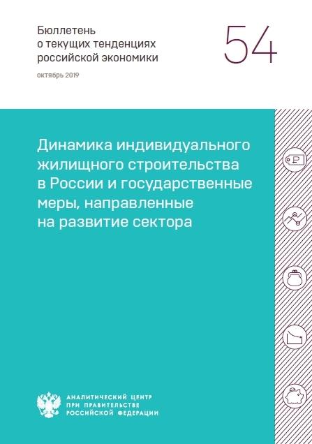 Динамика индивидуального жилищного строительства в России и государственные меры, направленные на развитие сектора